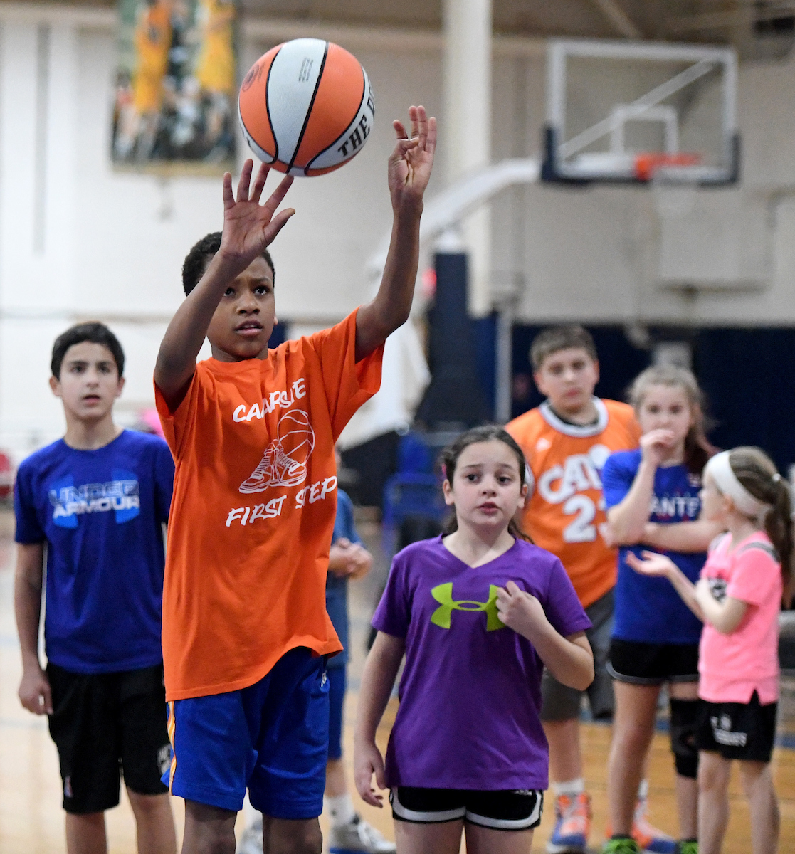Offensive skills in basketball snow valley