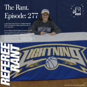 Lightning Alumni Lauren Hammersley Interviewed on the Referee Rant Podcast!